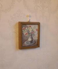 vintage botanic art frame