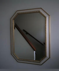 gold frame mirror fom italy