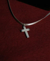 stone cross pendant