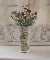 """VTG """"Mucha"""" flower vase 1"""