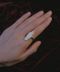 vintage feve ring hand