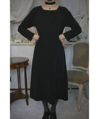 "VTG ""Christian Dior"" velvet long one piece"