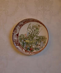 30s wall plate Jeanne d'Arc