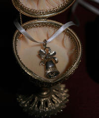 silver925 bell pendant