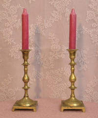 long candle stand from UK 2pc.set