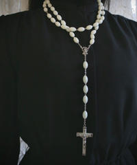 night light long beads rosary