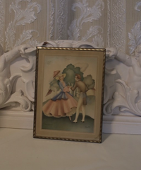 VTG illust wall decoration