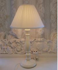 VTG white hotel lamp