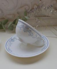 VTG blue cup&s noritake