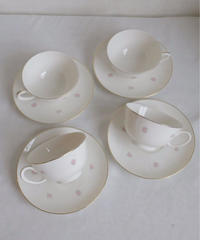 VTG rose decoration noritake cup&s