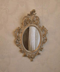 decorated itallian wall mirror