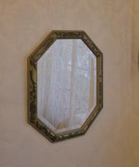 ITALIAN octagonal wall MIRROR