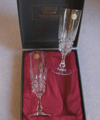 VTG french glass crystal d'Arques