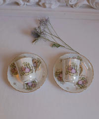 VTG aurora lady cup&s  2 SET