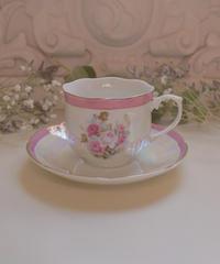 VTG aurola pink tea cup