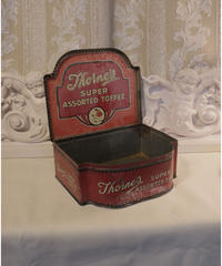 uk antique tin box