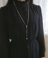 VTG mother of pearl rosary