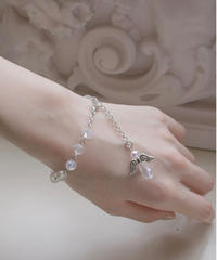 IMPORT clear beads bracelet