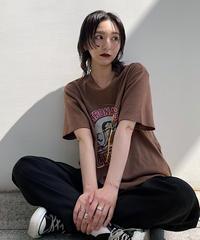 <NA-2212221> レトロイラストTシャツ