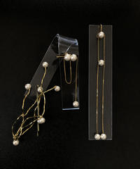 【Now-a-days series】ER-005 / set of 3 (Earring+Hairpin)