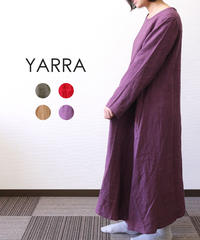 YARRA/ リトアニアロング長袖ワンピース