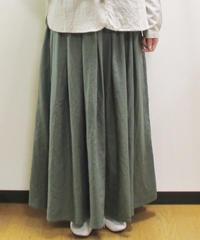 【2019秋】YARRA ボックスタックロングスカート