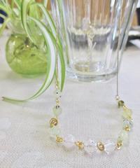Green grape ネックレスC