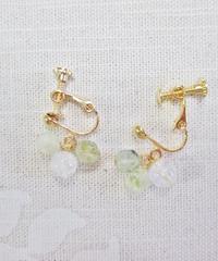 Green grape イヤリング/ピアス B