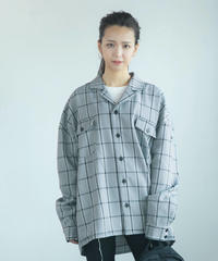 AR203SH0901 ユニセックスカイキンシャツ