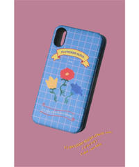 FLOWERRR SEEDS iPhone case / sax blue