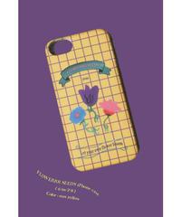 FLOWERRR SEEDS iPhone case / sun yellow