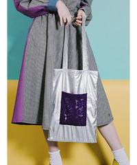"""Tin man"" Flower pocket Bag"