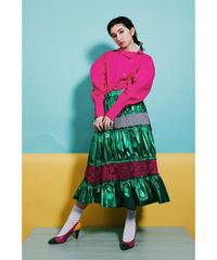 """Emerald city"" Switching Skirt"