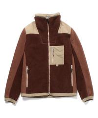 [Cape HEIGHTS] mens HUGO Bonded Fleece_MINK BROWN