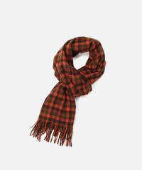 [Joshua Ellis] CP51109/scarf Shephered (crocket x chocolate x bengal)