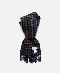 [Joshua Ellis] CP51108/scarf Shepherd (black x sapphire x new green)