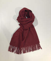 [Joshua Ellis] CP47716/scarf Plain(Wine)