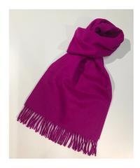 [Joshua Ellis] CP49984/scarf Plain(Purple/close shade to fuchsia Pink)