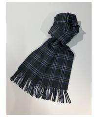 [Joshua Ellis] CP49383/scarf Sport Check (grey x blue)
