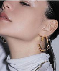 Sea'ds mara/シーズマーラ Mix wave pierce・earring
