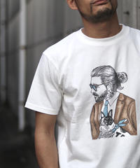 TES MALIBU STAR BUHI T-SHIRT / プリントTシャツ