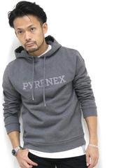 PYRENEX /ピレネックス ワンポイントロゴ裏毛パーカー