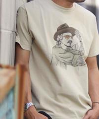 TES MALIBU STAR HAT T-SHIRT / Tシャツ