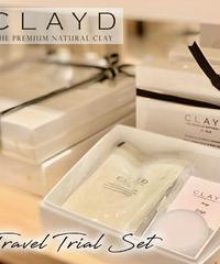 CLAYD クレイド 高品質クレイ入浴剤 TRAVEL&TRIAL 詰め合わせ デトックス