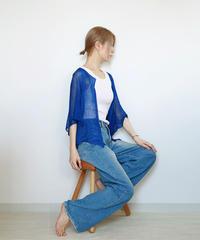 ◆即納◆Taygeta[タイゲタ] カバー・カーディガン / ロイヤル・ブルー