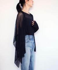 ◆即納◆Alwaid[アルワイド] オールカバー袖付きストール / ブラック