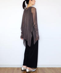 ◆ご予約◆Alwaid[アルワイド] オールカバー袖付きストール / ディープフォレスト・グレー
