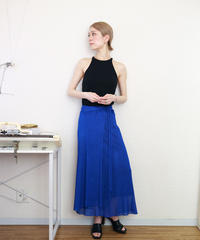 ◆即納◆Diphda[ディフダ] マキシ丈ラップ・スカート / ロイヤル・ブルー