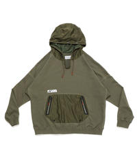 DRAW CODE HOODED PULL JERSEY c/#2 OD