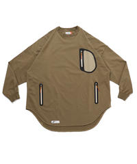 TOO BIG BAGGY NECK JERSEY c/#3 SAND